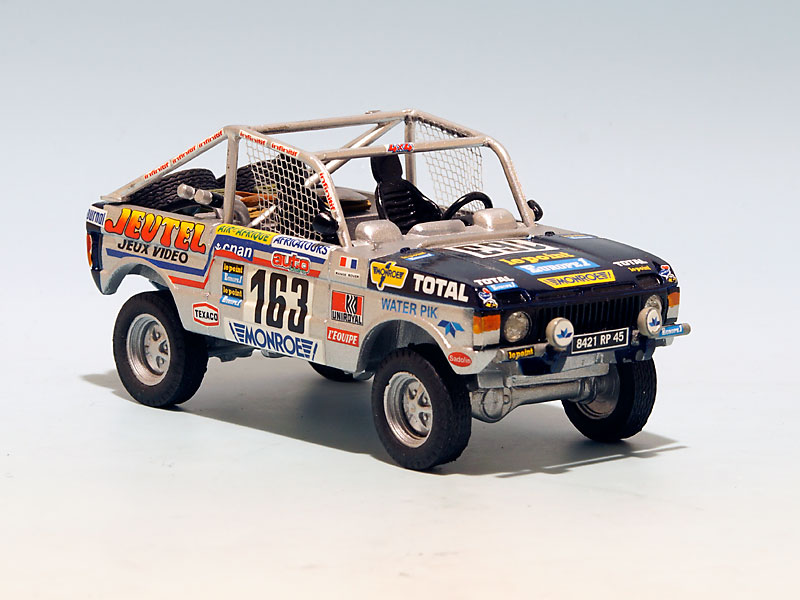 range rover proto jeutel paris dakar 1982. Black Bedroom Furniture Sets. Home Design Ideas